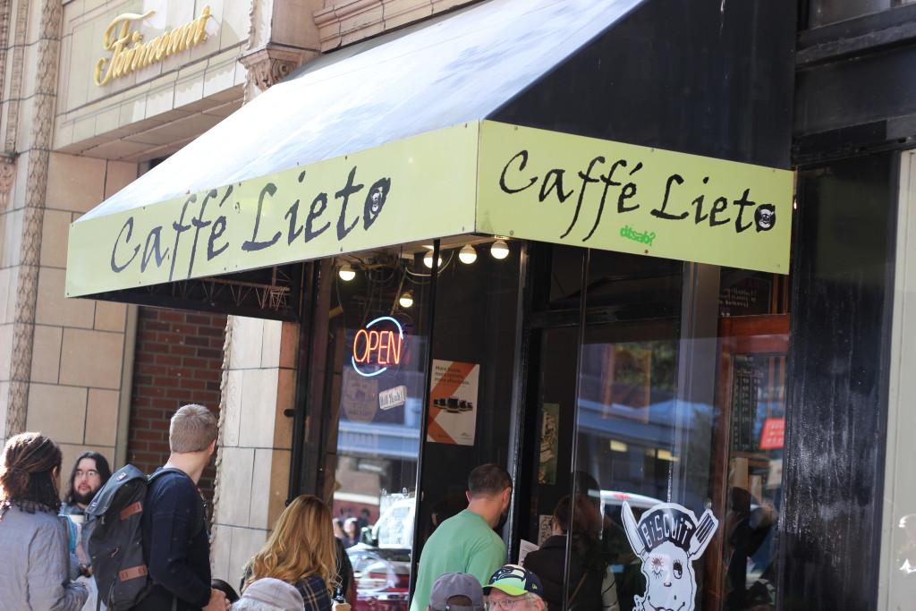 Brunch at Caffe Lieto