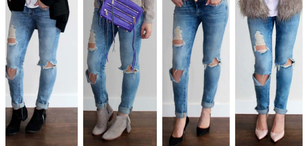 Must Have Pair of Distressed Denim