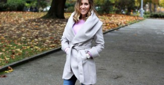 Wrap Coat + OTK Boots