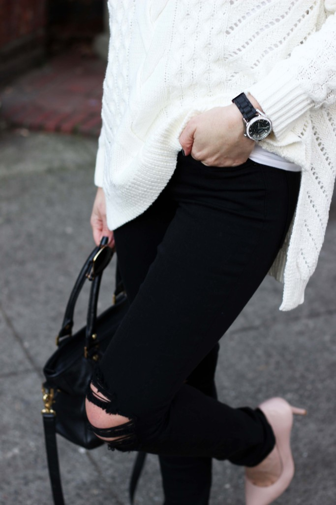 Jeans + Watch