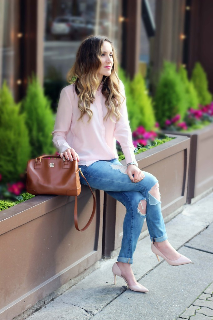 Scalloped Blouse