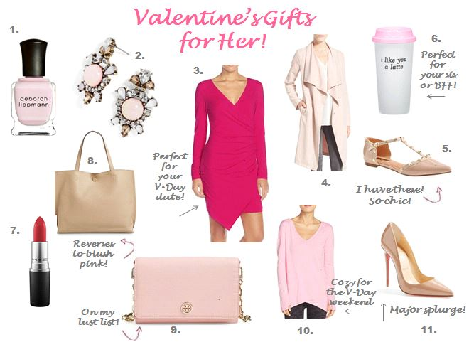V-Day Gifts She'll Use All Year