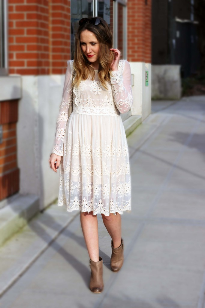 Dreamy Lace Dress