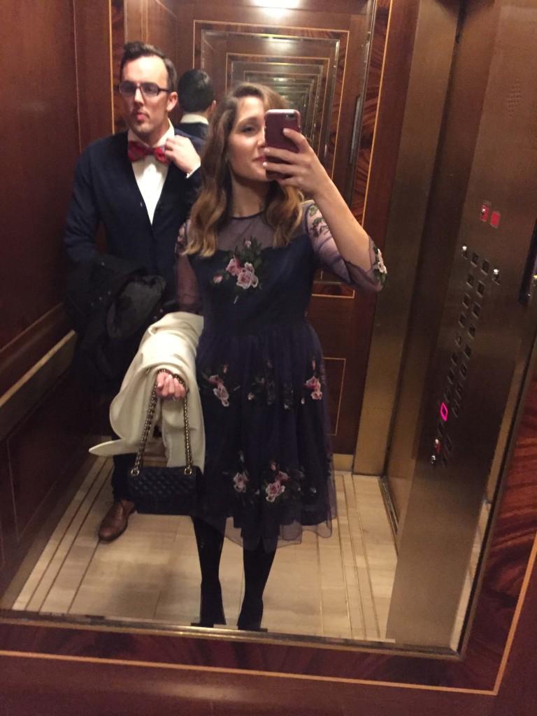 Valentine's Day Elevator Selfie!