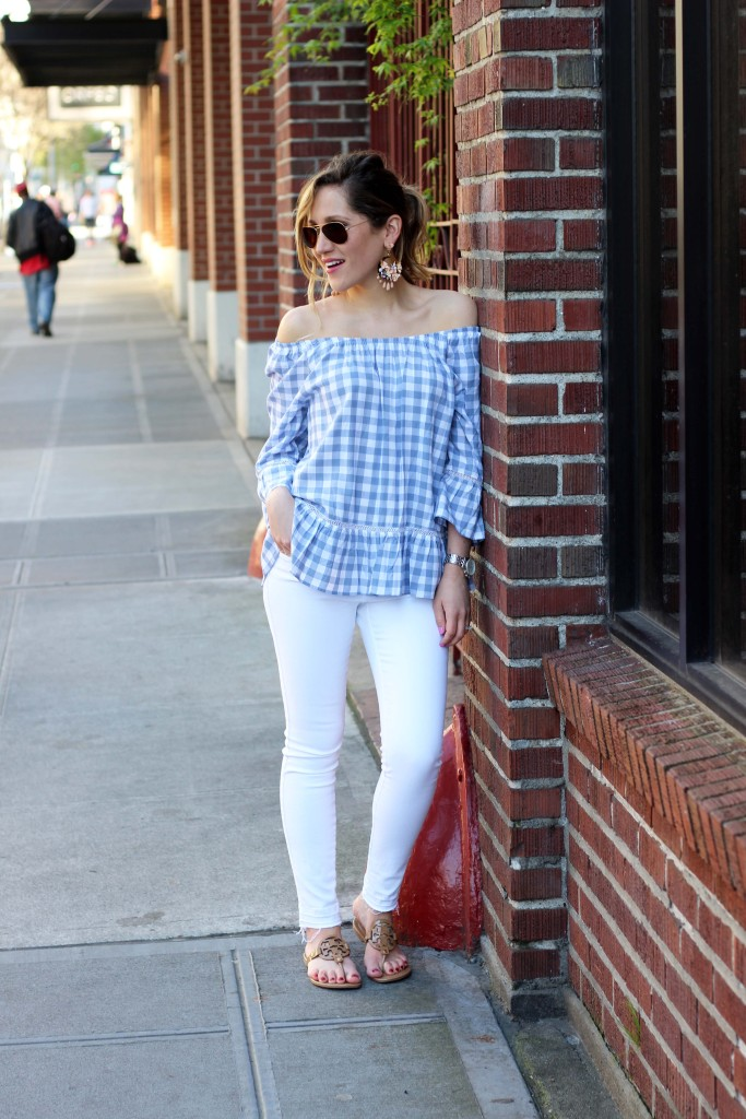 Nordstrom Rack off the shoulder top