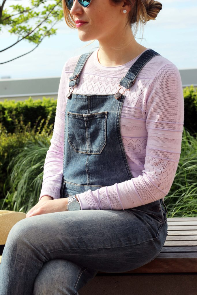 Spring Look: Overalls + Wedges