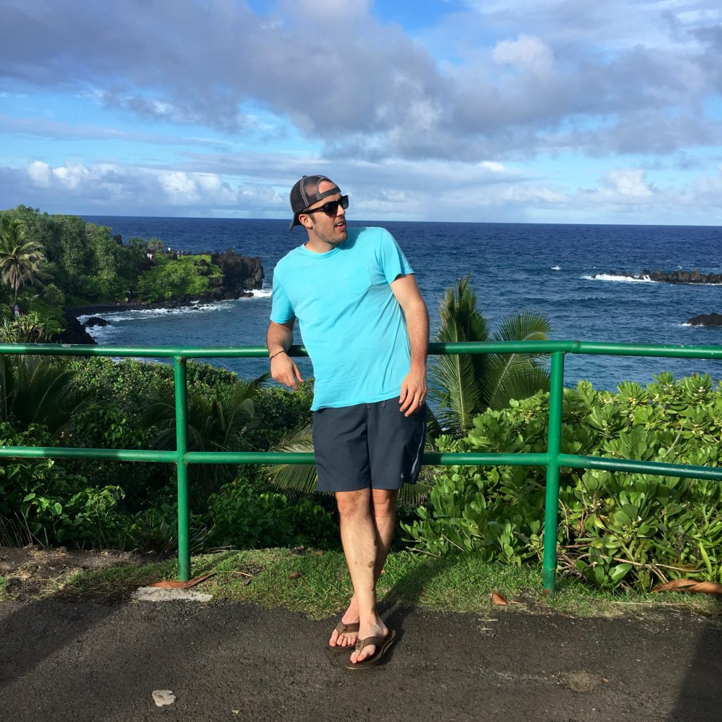 Black Sand Beach - Road to Hana
