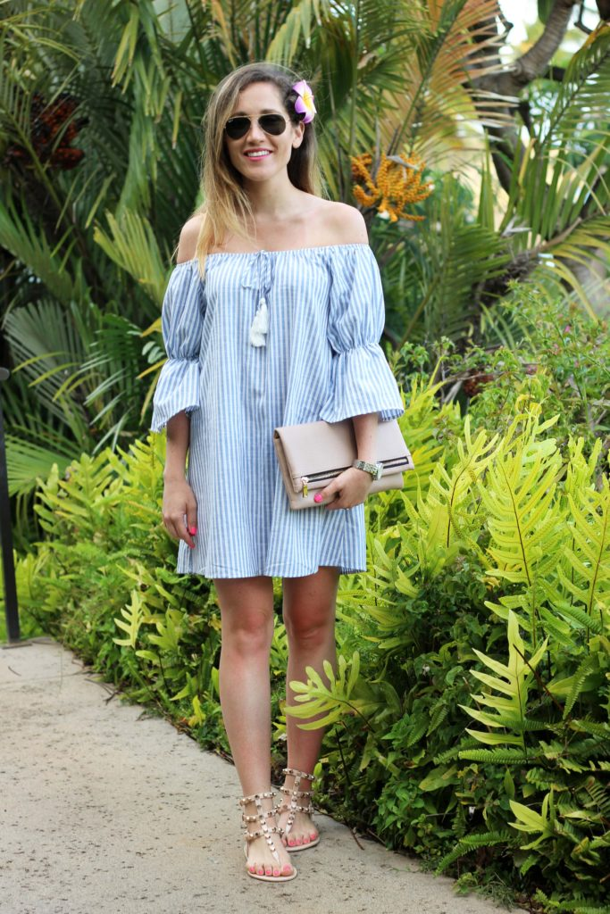The Off The Shoulder Dress You Need