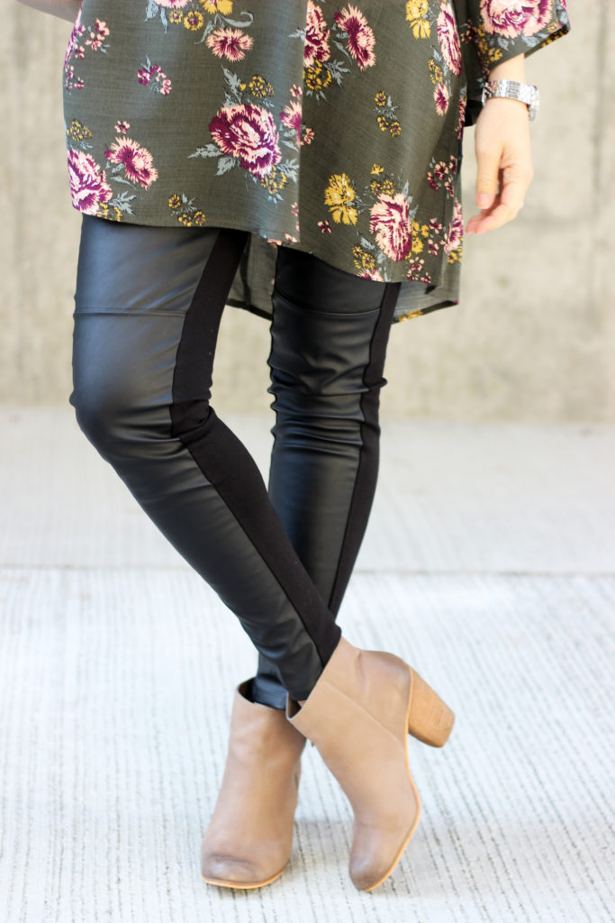 Tunic and Leather Pants