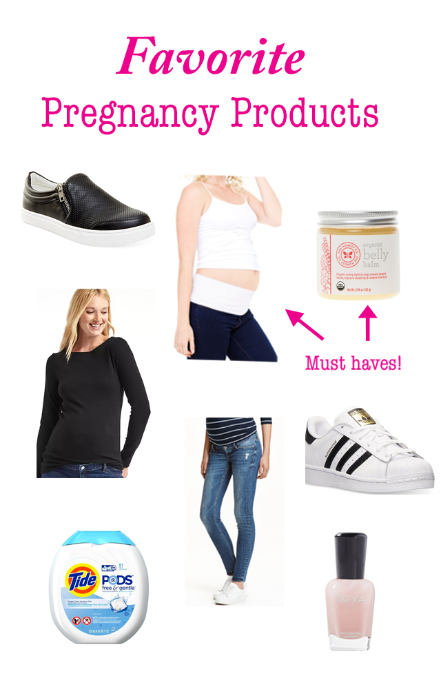 Favorite Pregnancy Products