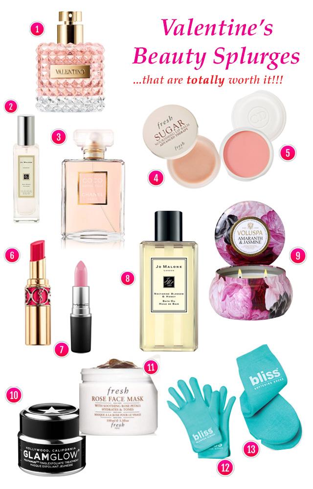 Valentine's Beauty Splurges